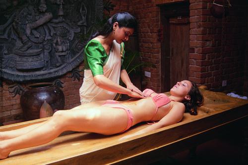 El masaje Ayurveda