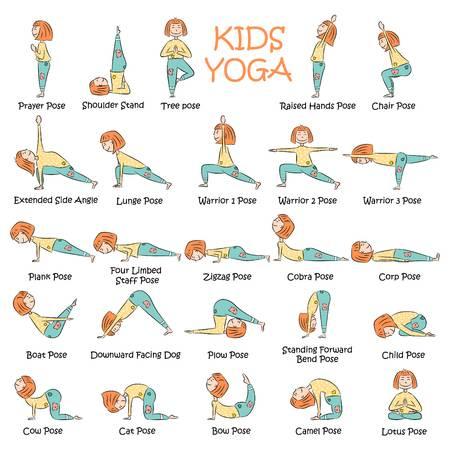 Yoga para niños: algunas posiciones